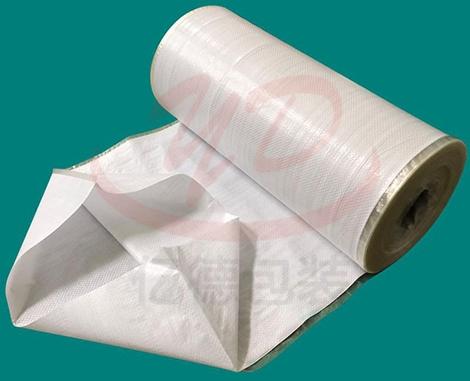 白色覆膜筒料
